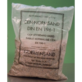 Nisip poligranular standardizat conform EN 196-1