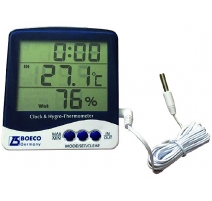 Termohigrometru digital cu ceas