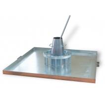 """Inel """"J"""" pentru determinarea abilitatii de trecere a betonului autocompactant conform EN 12350-12"""