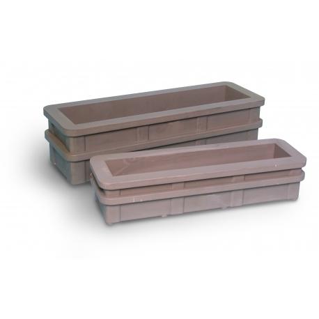 Tipar pentru beton rutier 15x15x60 cm