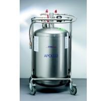 Container pentru azot lichid din otel inoxidabil